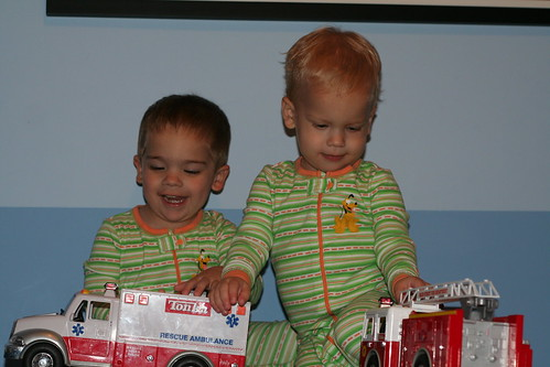 Matching PJs and Emergency Response Vehicles