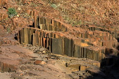 Twyfelfontein - Organ Pipes. 2 (Maurizio Contini) Tags: world africa sunset red sun lighthouse white elephant color tree water beautiful yellow sunrise canon wonderful river spectacular fur point skeleton coast ship child cross desert dune pipes lion pelican canyon unesco organ scenario seals cape giraffe pan rise wreck namibia wreckage colony etosha maurizio himba engravings sossusvlei namib swakopmund twyfelfontein herero kuiseb contini damarland