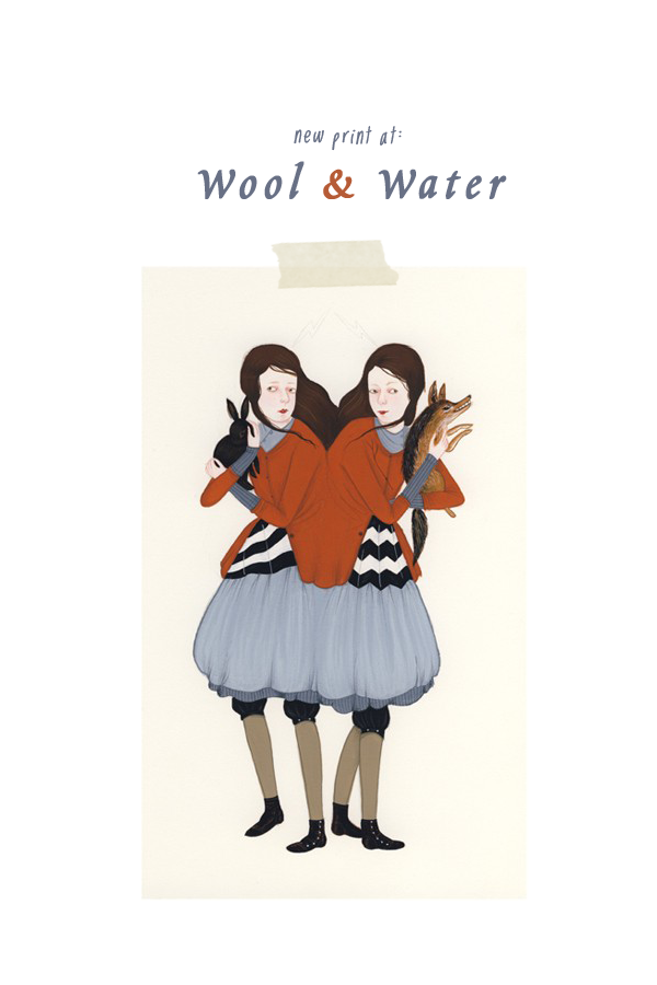 woolandwaterprint