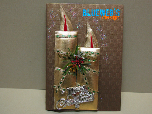 Xmas card-handmade19 by you.