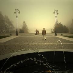 The Third Man (anbri22) Tags: yellow fog square noir giallo unknown sometimes nebbia tre thirdman sconosciuto anbri certevolte terzouomo