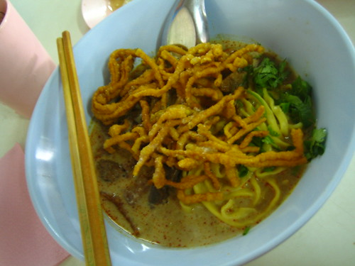 Khao soi from Khao Soi Lamduon