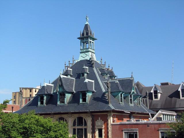 Custom House Roof