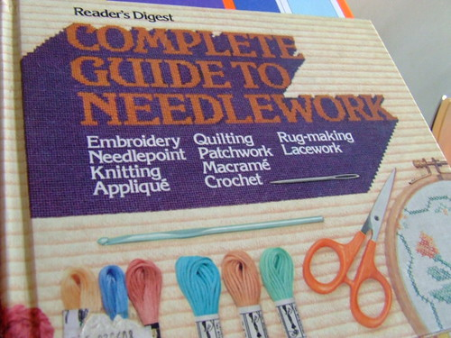 Needlework book