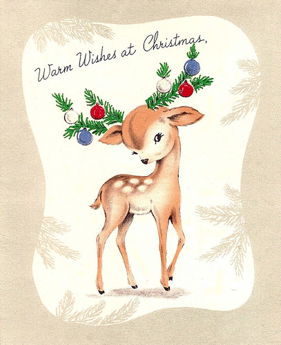 fawn christmas wishes