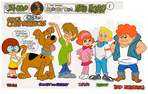 Pup named scooby doo model sheet a photo on flickriver