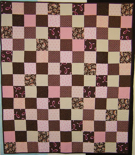 Breast Cancer Charity Quilt