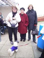 Joyce, Sheila and Sue (with Sydney)