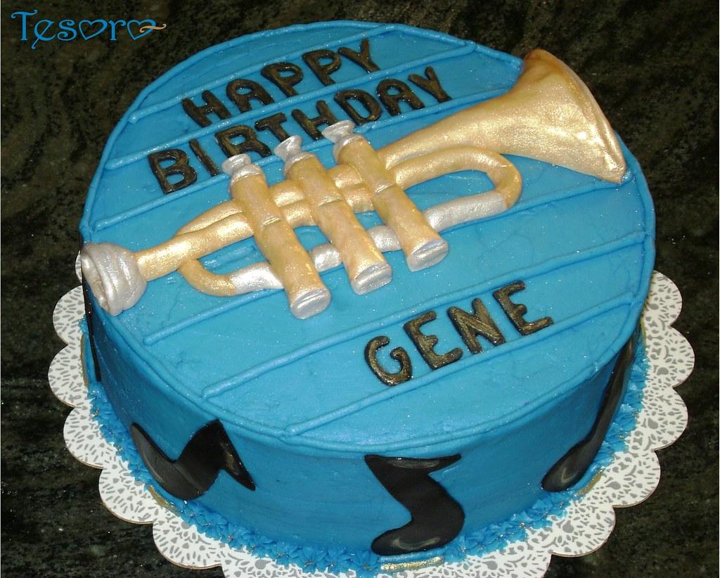 Gene's cake