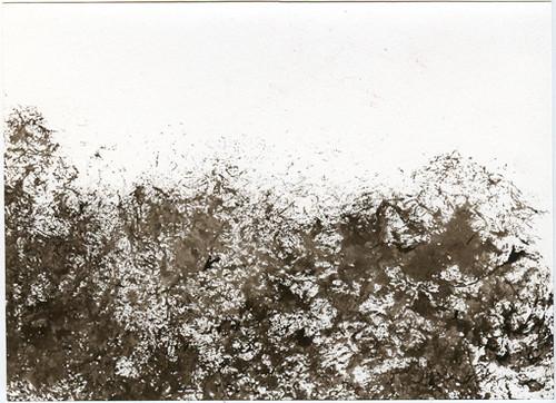 Black Felt Landscape VI