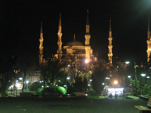 Night Shot of Blue Mosque