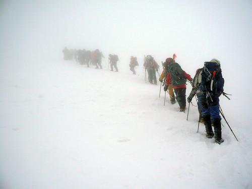 Subiendo al Elbrus