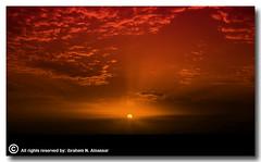 The Good Bye (ibrahem N. ALNassar) Tags: canon eos d 5 n l 5d kuwait usm ef 1740mm f4 silhuette ابراهيم الكويت كويت alnassar كويتي كانون ibrahem النصار