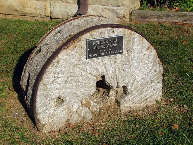 Pedens Mill Grindstone