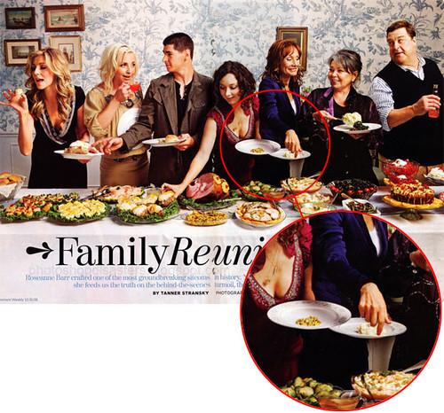 la familia de Roseanne