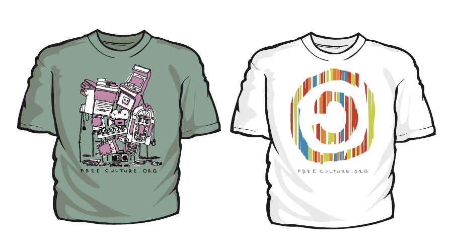 Students for Free Culture T-Shirts