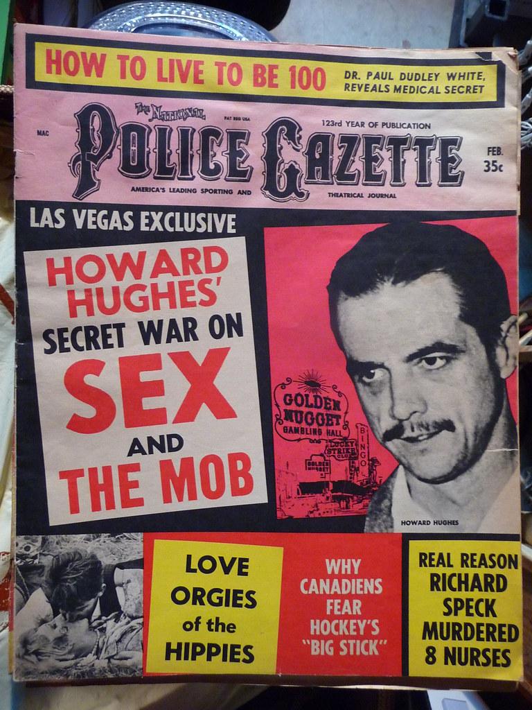 Police Gazette Magazine, Feb. 68