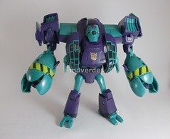 Transformers Lugnut Animated Voyager - modo robot (by mdverde)