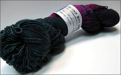 Peacock STR yarn