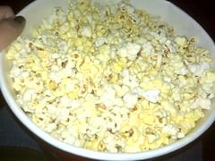 Mmmmm, a bucket of buttered popcorn