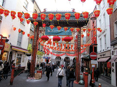 Soho/Chinatown London Chinese New Year