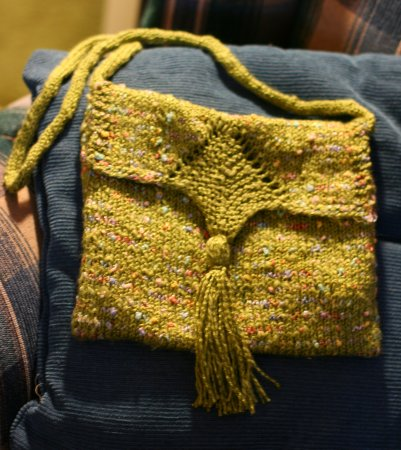 green purse done