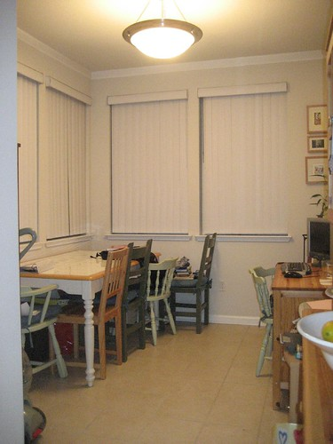 Dining Room as of 2/1/9