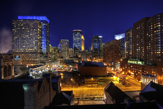 Frozen Minneapolis (Greg Benz Photography) Tags: photography minneapolis target wellsfargo twincities hdr nicollet idstower downtownminneapolis urbanminneapolis targetplaza carbonsilver photosofthetwincities