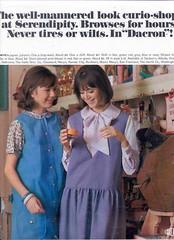 Colleen Corby  DacronFabrics (Matthew Sutton (shooby32)) Tags: magazine model mod colleen 1960s corby seventeen