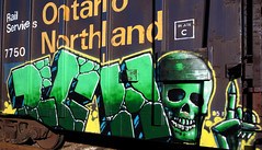 ICH (INTERNATIONALE-SMOKKELAAR) Tags: ontario green trains yme northland ich bmc ichabod freights