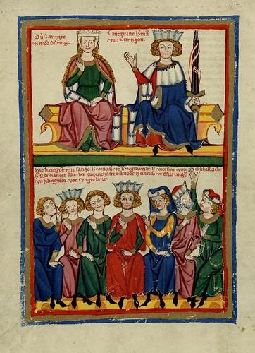 018- Klingsor von Ungorland-Codex Manesse