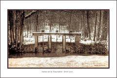 vanne Vaucouleur (mich53 - thank you for your comments and 3,5M view) Tags: france hiver explore barrage sépia manteslaville mantesenyvelines
