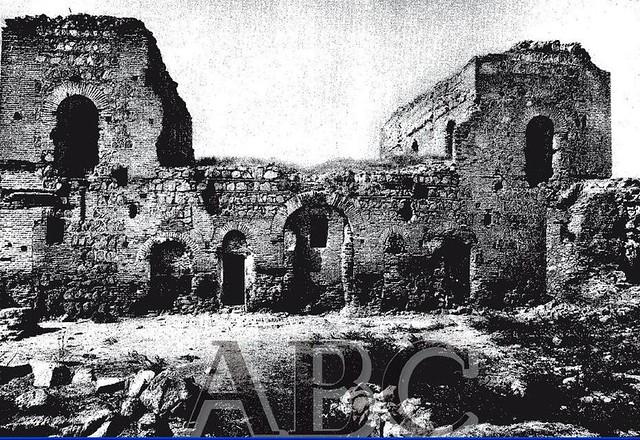 Palacio de Galiana a comienzos del siglo XX. Foto ABC