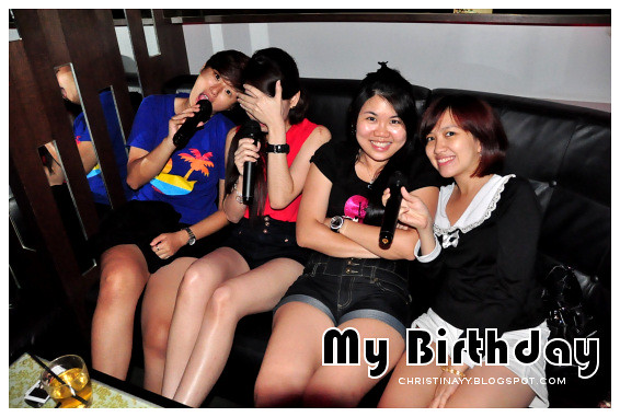 My Birthday Celebration at Neway Karaoke