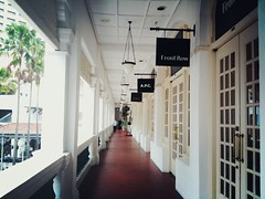 Front Row and A.P.C., Raffles Hotel