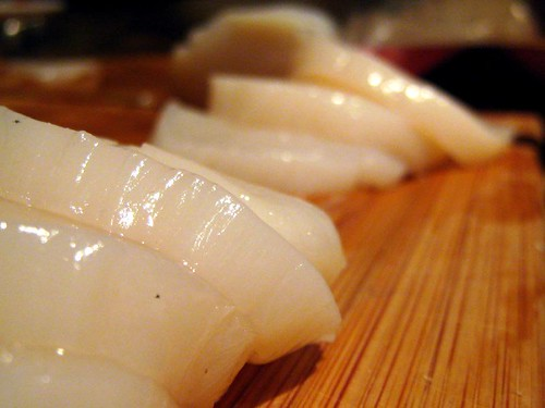 Yummy Sliced Scallops