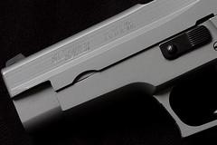 Sig Sauer P226 (WickedVT) Tags: studio gun flash pistol sig handgun ccr 9mm 226 p226 sigsauer sigarms strobist