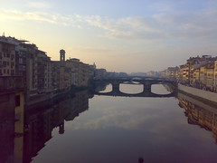 view from uffizi (barn3y) Tags: tuscany firenze uffizi arno
