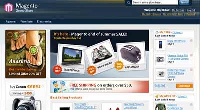 Magento e-commerce: picture Magento e-commerce by ALOPES FERRARI