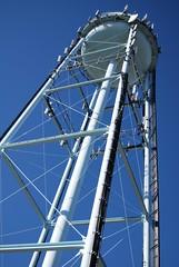 (g e n e v i e v e) Tags: tower water lines verticality