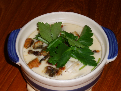 Unagi and Udon Chawan Mushi