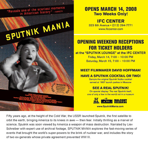 Sputnik Mania opening in New York