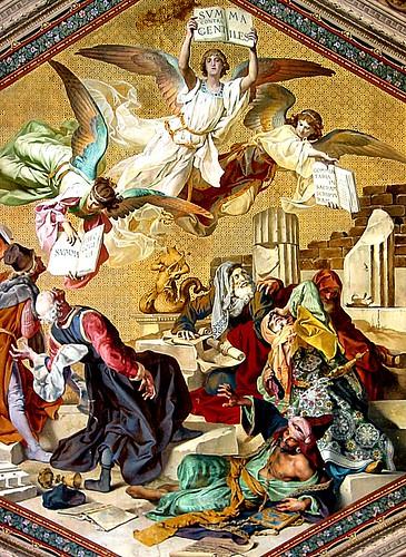 Vatican Museum - Painting, Summa Contra Gentiles - Summa ...