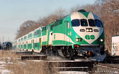 GO Transit MP40_001 (Nikon Norm) Tags: railroad trains locomotive railways gotrain clarkson gotransit mp40