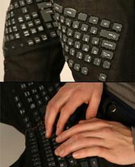 """Фото 1 - """"Клавиатурные джинсы"""""""
