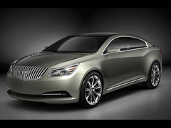 2008 Buick Invicta Show Car computer generated image