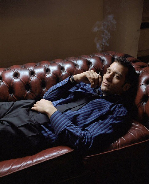 Clive Owen by Lizzie Bell