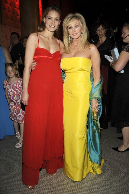 Katharina Harf and Morgan Fairchild by dkmsamericas