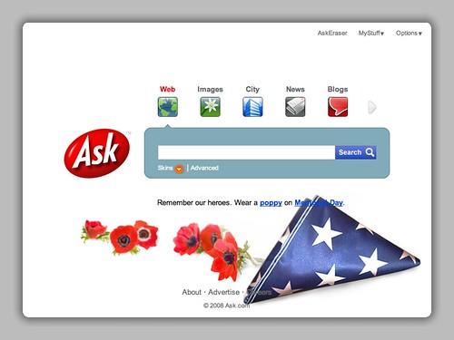 Ask.com Memorial Day 2008