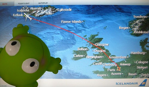 J1: FrogZ is travelling to Iceland